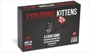 Cover-Bild zu Exploding Kittens - NFSW Edition (DE)
