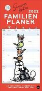 Cover-Bild zu Simons Katze Familienplaner Kalender 2022 von Tofield, Simon