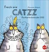Cover-Bild zu Catzz Postkartenkalender 2022 von Holzach, Alexander