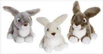 Cover-Bild zu Plüsch Dreamies Hasen klein 20 cm. Creme, braun oder grau