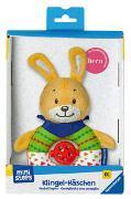 Cover-Bild zu Ravensburger ministeps 4158 Klingel-Häschen, Greifling und Kuscheltier, Baby Spielzeug ab 0 Monate