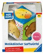 Cover-Bild zu Ravensburger ministeps 4162 Musikalischer Softwürfel - Activity-Würfel mit Musik und Geräuschen, Motorikspielzeug, Baby Spielzeug ab 6 Monate