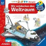 Cover-Bild zu Erne, Andrea: Wir entdecken den Weltraum. CD