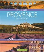 Cover-Bild zu Highlights Provence mit Côte d'Azur von Zichnowitz, Jürgen