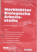 Cover-Bild zu 41. Ergänzungslieferung - Merkblätter Biologische Arbeitsstoffe