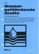 Cover-Bild zu 92. Ergänzungslieferung - Wassergefährdende Stoffe