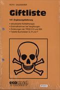 Cover-Bild zu 147. Ergänzungslieferung - Giftliste