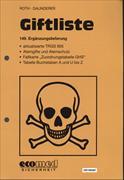 Cover-Bild zu 149. Ergänzungslieferung - Giftliste