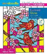 Cover-Bild zu Zendoodle Color-by-Number: Stained Glass von Muller, Deborah