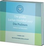 Cover-Bild zu Die große Luther-Hörbibel 2017. Die Psalmen - gelesen von Rufus Beck von Beck, Rufus (Gelesen)