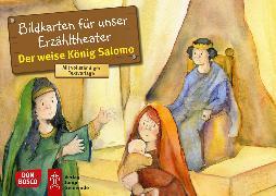 Cover-Bild zu Der weise König Salomo. Kamishibai Bildkartenset von Hartmann, Frank