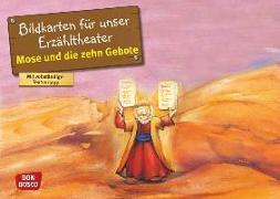 Cover-Bild zu Mose und die zehn Gebote von Brandt, Susanne