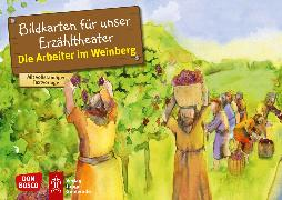 Cover-Bild zu Die Arbeiter im Weinberg. Kamishibai Bildkartenset von Hartmann, Frank