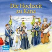 Cover-Bild zu Die Hochzeit zu Kana. Mini-Bilderbuch von Groß, Martina