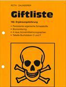 Cover-Bild zu 162. Ergänzungslieferung - Giftliste