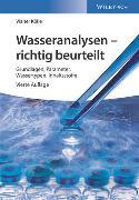Cover-Bild zu Wasseranalysen - richtig beurteilt von Koelle, Walter