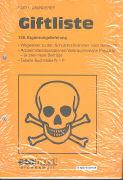Cover-Bild zu 128. Ergänzungslieferung - Giftliste