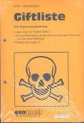 Cover-Bild zu 129. Ergänzungslieferung - Giftliste