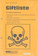 Cover-Bild zu 130. Ergänzungslieferung - Giftliste