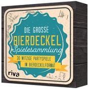 Cover-Bild zu Die große Bierdeckel-Spielesammlung von riva Verlag