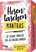Cover-Bild zu Hosentaschen-Mantras - 55 starke Impulse für Alltagsheldinnen von riva Verlag