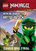 Cover-Bild zu LEGO® NINJAGO® - Mein heldenhafter Rätselblock