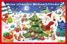 Cover-Bild zu Meine schönsten Weihnachtslieder. Adventskalender mit 24 leicht auslösbaren Sounds von Jatkowska, Ag (Illustr.)
