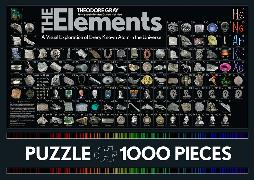Cover-Bild zu The Elements Jigsaw Puzzle von Mann, Nick