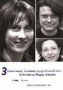 Cover-Bild zu Schneider, Kristin: 3 Contemporary German-Language Fiction Writers: Lichtenberg, Roggla, Schnider