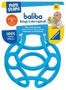 Cover-Bild zu Ravensburger ministeps 4149 baliba - Flexibler Ball, Greifling und Beißring - Baby Spielzeug ab 0 Monate - blau