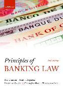 Cover-Bild zu Principles of Banking Law von Cranston, Sir Ross (Professor of Law at the London School of Economics)