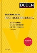 Cover-Bild zu Schülerduden Rechtschreibung und Wortkunde (gebunden) von Dudenredaktion