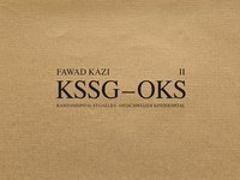 Cover-Bild zu Sauer, Marko (Hrsg.): Fawad Kazi KSSG-OKS
