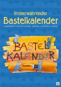 Cover-Bild zu Bastelkalender bunt