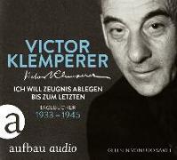 Cover-Bild zu Ich will Zeugnis ablegen bis zum letzten von Klemperer, Victor