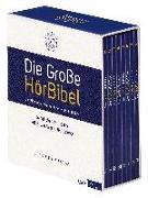 Cover-Bild zu Die Große HörBibel. Ungekürzte, szenische Lesung. 8 MP3-CDs von Luther, Martin (Übers.)
