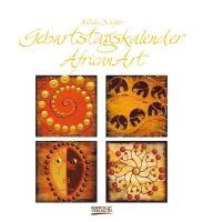Cover-Bild zu AfricanArt Geburtstagskalender