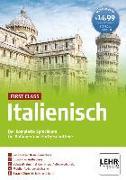 Cover-Bild zu First Class Italienisch. Paket: 4 CD-ROMs + Audio-CD