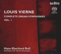 Cover-Bild zu Sämtliche Orgel-Sinfonien Vol. I