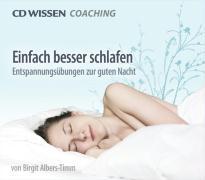Cover-Bild zu Einfach besser schlafen