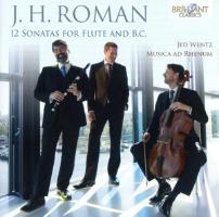 Cover-Bild zu J.H.Roman. 12 Sonatas For Flute And B.C
