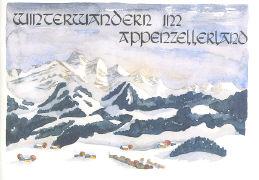 Cover-Bild zu Winterwandern im Appenzellerland
