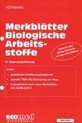 Cover-Bild zu 61. Ergänzungslieferung - Merkblätter Biologische Arbeitsstoffe