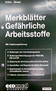Cover-Bild zu 368. Ergänzungslieferung - Merkblätter gefährliche Arbeitsstoffe