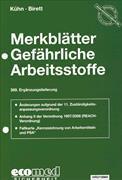 Cover-Bild zu 369. Ergänzungslieferung - Merkblätter gefährliche Arbeitsstoffe