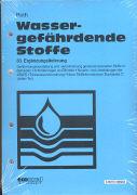 Cover-Bild zu 83. Ergänzungslieferung - Wassergefährdende Stoffe