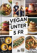 Cover-Bild zu Vegan unter 5 Fr von Adank, Joel