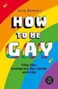 Cover-Bild zu Dawson, Juno: How to Be Gay. Alles über Coming-out, Sex, Gender und Liebe (eBook)