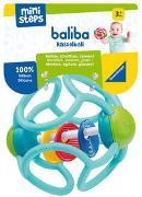 Cover-Bild zu Ravensburger ministeps 4152 baliba Rasselball - Flexibler Greifling, Beißring und Babyrassel - Baby Spielzeug ab 3 Monate - türkis