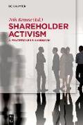 Cover-Bild zu Shareholder Activism (eBook) von Krause, Nils (Hrsg.)